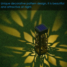 Load image into Gallery viewer, Waterproof Garden Lights Solar Powered with Warm White LED Lights