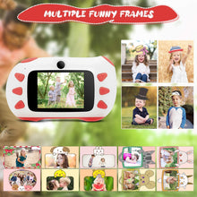 Load image into Gallery viewer, 1080P HD Children Action Camera Portable Rechargeable Toddler Video Recorder Kids Camera