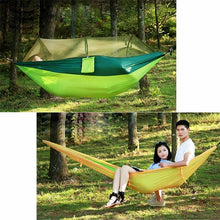 Load image into Gallery viewer, Outdoor Anti Mosquito Hammock Multifunctional with Mosquito Nets Hammock Super Light Portable Double Camping Air Tents