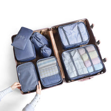 Load image into Gallery viewer, 8pcs Travel Home Clothes Quilt Blanket Storage Bag Set