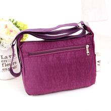 Load image into Gallery viewer, Women Casual Waterproof Outdoor Nylon Single-shoulder Travel Bag