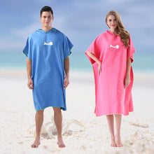 Load image into Gallery viewer, Adult Diving Suit Change Robes Poncho Quick-drying Hooded Towel Quick-drying Hooded