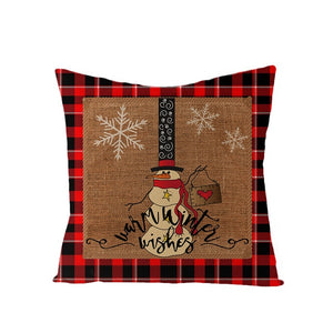 Christmas Pillow Cover Living room Decorative Pillows Christmas Cushion Cover