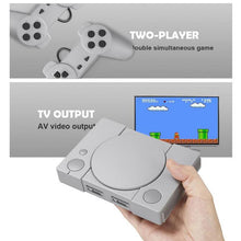 Load image into Gallery viewer, Classic Game Console 8-bit for PS1 Mini Home 620 Action Game