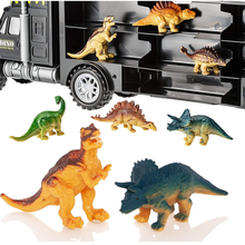 Load image into Gallery viewer, Dinosaur Truck Carry Case