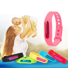 Load image into Gallery viewer, Mosquito Killer Silicone Wristband Anti Mosquito Band