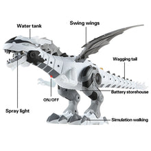 Load image into Gallery viewer, Electronic Pets Walking Spray Dinosaur Lighting Electric Toys for Kids Children