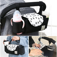 Load image into Gallery viewer, Baby Stroller Organizer Baby Prams Carriage Bottle Bag For Mom Diaper Bag