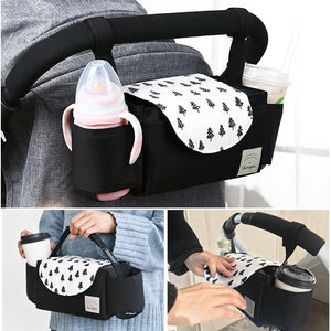 Baby Stroller Organizer Baby Prams Carriage Bottle Bag For Mom Diaper Bag