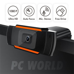 1080P Webcam USB2.0 Computer Network Live Camera Network Camera Free Drive USB Cam Hd Camera
