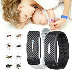 Ultrasound Mosquito Repellent Bracelet Anti Insect Wrist Band