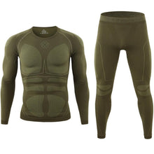 Load image into Gallery viewer, Men Thermal Underwear Set Comfortable Warm Outdoor Sport Tights Suit