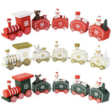 Load image into Gallery viewer, Little Train Wooden Christmas Decorations
