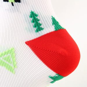 Christmas Compression Socks Sports Stockings