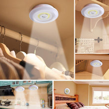 Load image into Gallery viewer, 3PCS COB LED Night Lights Wireless LED Remote Control Battery Under Cabinet Night Light