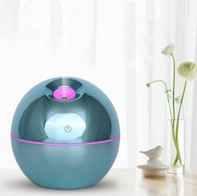 Load image into Gallery viewer, 130ML 7 Color LED Light Ultrasonic Humidifier Aroma Essential Steam Diffuser Home Office USB Charging