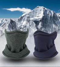 Load image into Gallery viewer, Winter Fleece Headband Neck Gaiter Tube Warmer Face Cover Scarf