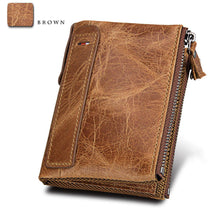Load image into Gallery viewer, Mens' RFID Faux Leather Wallets