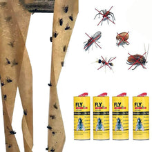 Load image into Gallery viewer, 4pcs Sticky Ant Fly Repellent Paper Eliminate Flies Insect Bug Home Glue flytrap Catcher