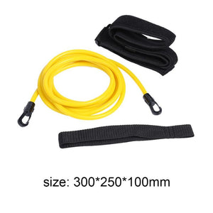 3M Adjustable Swim Training Resistance Belt Swimming Bungee Safety Rope Exerciser