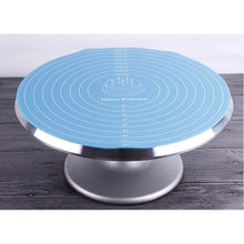 Load image into Gallery viewer, Multi-function Cooking Pad Round Silicone Placemat Cake Mat