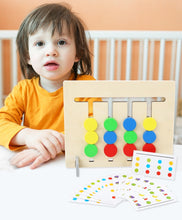 Load image into Gallery viewer, Colors and Fruits Double Sided Matching Game Kids Educational Toys