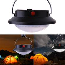Load image into Gallery viewer, 60 LED Ultra Bright Outdoor Camping Lamp Tent Light With Lampshade Circle ABS Rechargeable Lamp