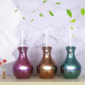 USB Aroma Essential Oil Diffuser Ultrasonic Cool Mist Humidifier Air Purifier 7 Color Change LED Night Light