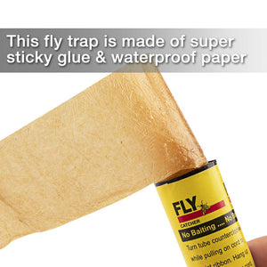 4pcs Sticky Ant Fly Repellent Paper Eliminate Flies Insect Bug Home Glue flytrap Catcher