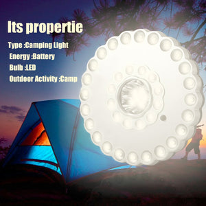 Outdoor High Brightness 36 + 5 LED Tent Lamp Three Mode Switch Camping Light