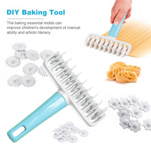 Load image into Gallery viewer, 37PCS Roller Rolling Pin DIY Cake Cutting Knife Baking Tool Set Roller Rolling Pin Cake Plastic Mold