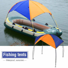 Load image into Gallery viewer, Inflatables Boat Sun Shelter Sailboat Awning Top Rowing Boats Cover Tent Sun Shade