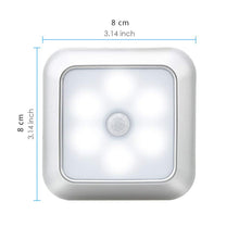 Load image into Gallery viewer, Smart Motion Sensor LED Night Lamp Battery Operated Pathway Night Light