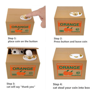 Automatic Coin Piggy Bank Money Saving Box