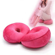 Load image into Gallery viewer, Dual Memory Foam Seat Cushion Beauty Back Seat Hip Push Up Cushion
