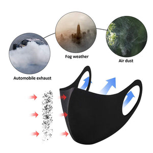 3D Ultra-thin Breathable Dustproof Mouth Mask Anti-Dust Haze Pm2.5 Flu Allergy Protection Face Masks
