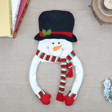 Load image into Gallery viewer, Christmas Tree Top Star Snowman Decorations Felt Christmas Tree Hat Pendant Decorations