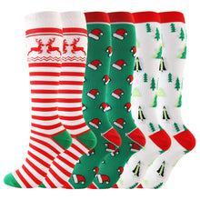 Load image into Gallery viewer, Christmas Compression Socks Sports Stockings