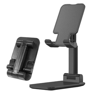 Metal Desktop Tablet Holder Foldable Extend Support Desk Mobile Phone Holder Stand