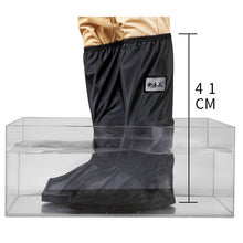 Load image into Gallery viewer, High Top Waterproof Shoes Covers For Shoes Motorcycle Cycling Bike Rain Boot Rain Cover