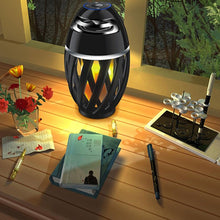 Load image into Gallery viewer, Flame Table Lamp Bluetooth Speaker