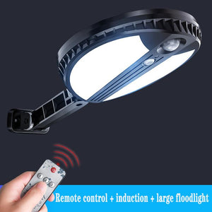 Waterproof 70 LED Solar Wall Light PIR Sensor Detection Garden Lamp