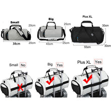 Load image into Gallery viewer, Men Gym Bags For Training Bag Outdoor Sports Swim Women Dry Wet Bag