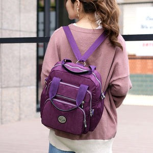 Women Fashion Female Backpack Leisure Laptop Backpack