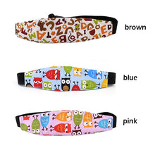 Load image into Gallery viewer, New Child Car Safety Seat Head Fixing Auxiliary Cotton Belt
