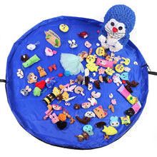 Load image into Gallery viewer, Kids Outdoor Large Building Blocks Mat Portable Children lego Play Mat Toy Organizer Bag