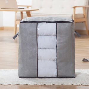 Home Storage Organizer Bags Space Saver Non-woven Foldable Breathable Storage Bag