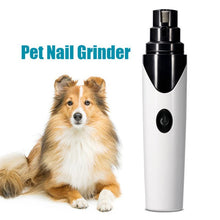 Load image into Gallery viewer, Rechargeable Dog Nail Grinders Professional Electric Dog Cat Nail Clippers