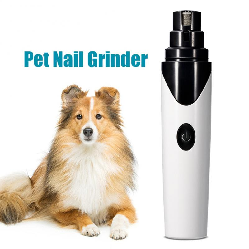 Rechargeable Dog Nail Grinders Professional Electric Dog Cat Nail Clippers