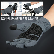 Load image into Gallery viewer, Ski Gloves Waterproof Fleece Thermal Heated Gloves